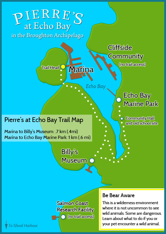 Echo Bay Trail Map