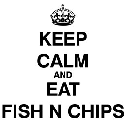 Keep Calm Eat Fish n Chips