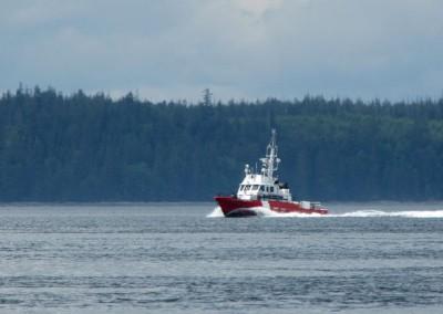 Canadian Coast Guard vessel.