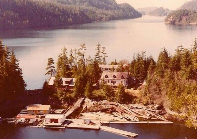 Echo Bay in the early days.